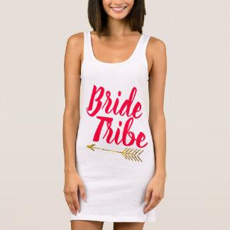 文字を入れられる花嫁の種族のタイポグラフィのCalligaphy手 袖なしドレス