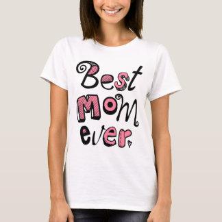 文字デザインな最も最高のなお母さん Tシャツ
