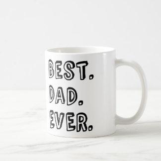 文字デザインな最も最高のなパパ コーヒーマグカップ
