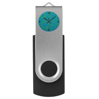 文字盤のフラッシュドライブ USBフラッシュドライブ