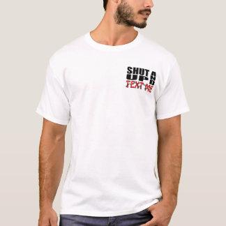 文字私締めれば Tシャツ
