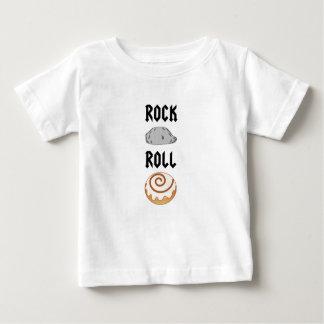 文字通りロックンロール ベビーTシャツ