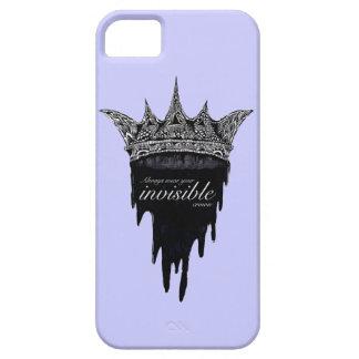 文字- v2が付いている点滴注入の王冠 iPhone SE/5/5s ケース