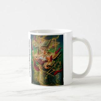 文学的な装置 コーヒーマグカップ