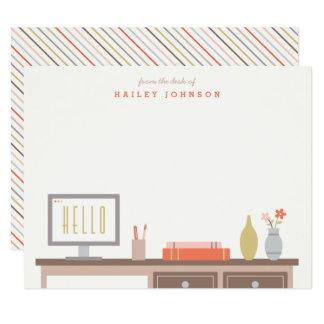文房具-トマトの机から カード