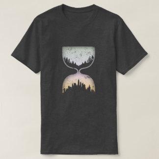 文明の砂時計 Tシャツ
