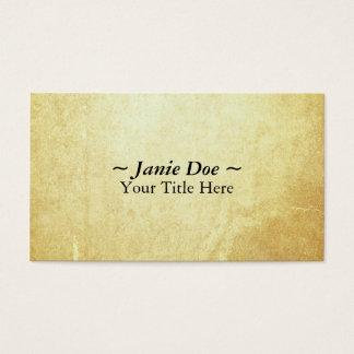 文書の紙 名刺