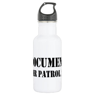 文書化されていない国境監視員 ウォーターボトル