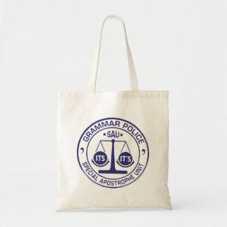 文法警察のトートバック トートバッグ