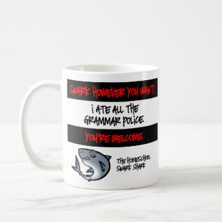 文法警察 コーヒーマグカップ