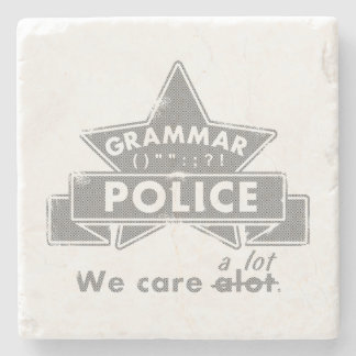 文法警察 ストーンコースター