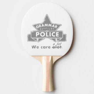 文法警察 卓球ラケット
