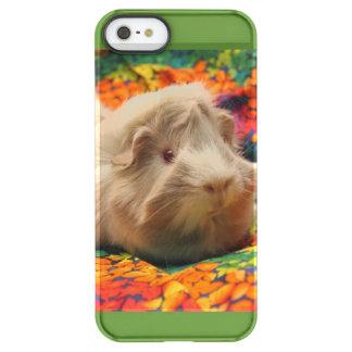 斑入りのモルモットの携帯電話の箱 PERMAFROST iPhone SE/5/5sケース
