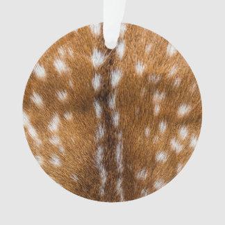 斑点を付けられたシカの毛皮の質 オーナメント