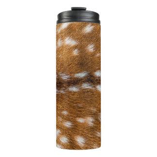 斑点を付けられたシカの毛皮の質 タンブラー