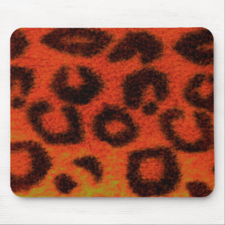 斑点を付けられたヒョウの蜜柑 マウスパッド