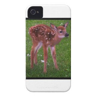 斑点を付けられた子鹿の歩行 Case-Mate iPhone 4 ケース