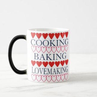 料理のベーキングの性交 マジックマグカップ