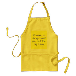 料理はそれを右の方法すれば危ないです スタンダードエプロン
