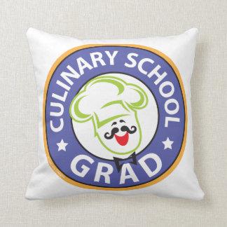 料理用の学校の卒業 クッション