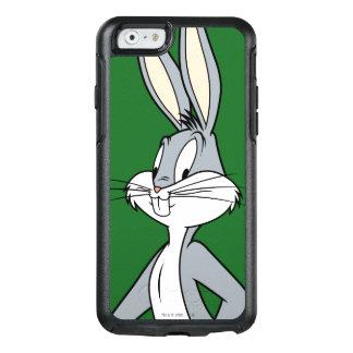 斜めに立つバッグス・バニーの™ オッターボックスiPhone 6/6Sケース