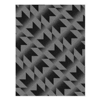 斜めMパターン ポストカード