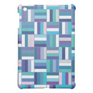 斜子織の青 iPad MINI CASE
