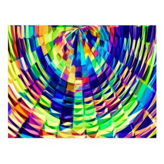 斜子織-魔法のダイヤモンドRaibow V1 ポストカード