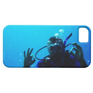 斬新なスキューバダイバーのiPhone 5の場合 iPhone SE/5/5s ケース