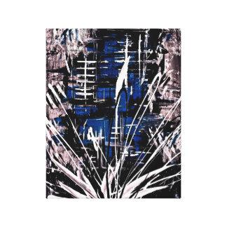 斬新な平静(エミリーMoizeのコレクション) キャンバスプリント