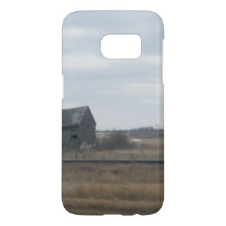 断念された農家のカナダ人の草原 SAMSUNG GALAXY S7 ケース
