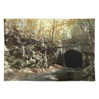 断念されたRRのトンネル#1のランチョンマット ランチョンマット