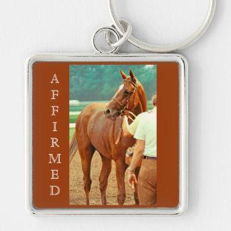 断言された純血種の競馬馬1978年 キーホルダー