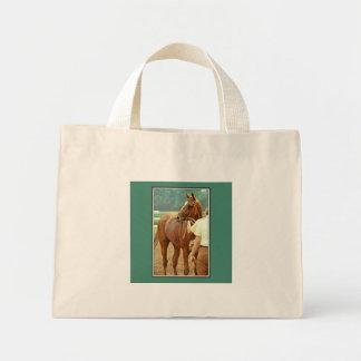 断言された純血種の競馬馬1978年 ミニトートバッグ
