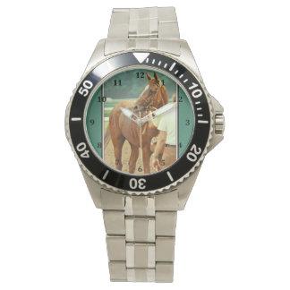 断言された純血種の競馬馬1978年 腕時計