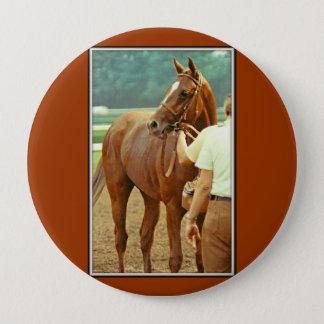 断言された純血種の競馬馬1978年 10.2CM 丸型バッジ
