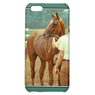 断言された純血種の競馬馬1978年 iPhone5Cカバー