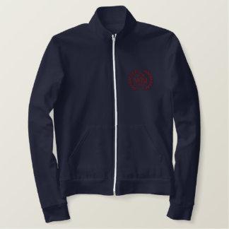 新しいお母さんは年の月桂樹の刺繍を個人化します 刺繍入りジャケット