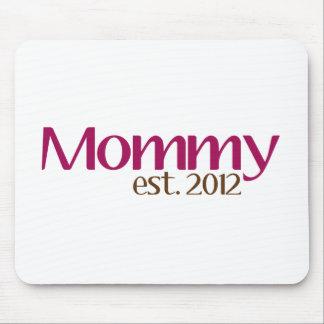新しいお母さん米国東部標準時刻2012年 マウスパッド