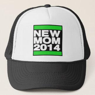 新しいお母さん2014の緑 キャップ