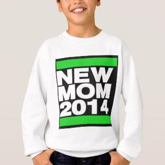 新しいお母さん2014の緑 スウェットシャツ