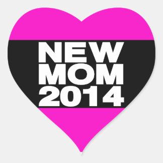 新しいお母さん2014年のLgのピンク ハートシール