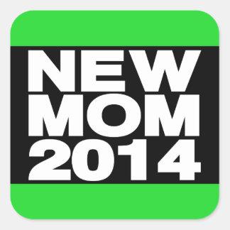新しいお母さん2014年のLgの緑 スクエアシール