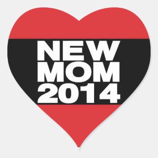 新しいお母さん2014年のLgの赤 ハートシール