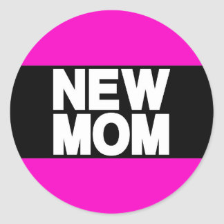 新しいお母さんLgのピンク ラウンドシール