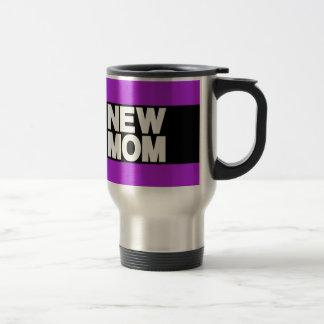 新しいお母さんLgの紫色 トラベルマグ