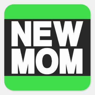 新しいお母さんLgの緑 スクエアシール