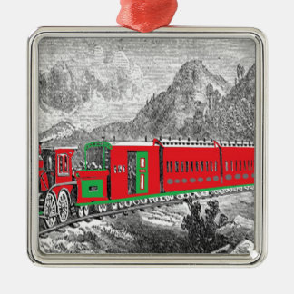 新しいからの機関車写真2Modernの(1871年の)列車 メタルオーナメント