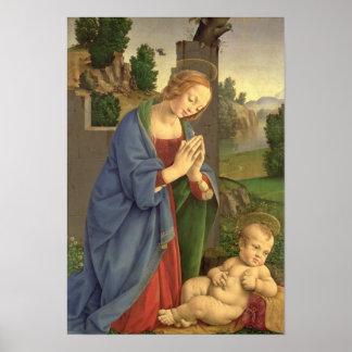 新しいの子供1490-1500年を崇拝します ポスター