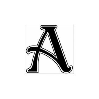 新しいの手紙モノグラム ラバースタンプ